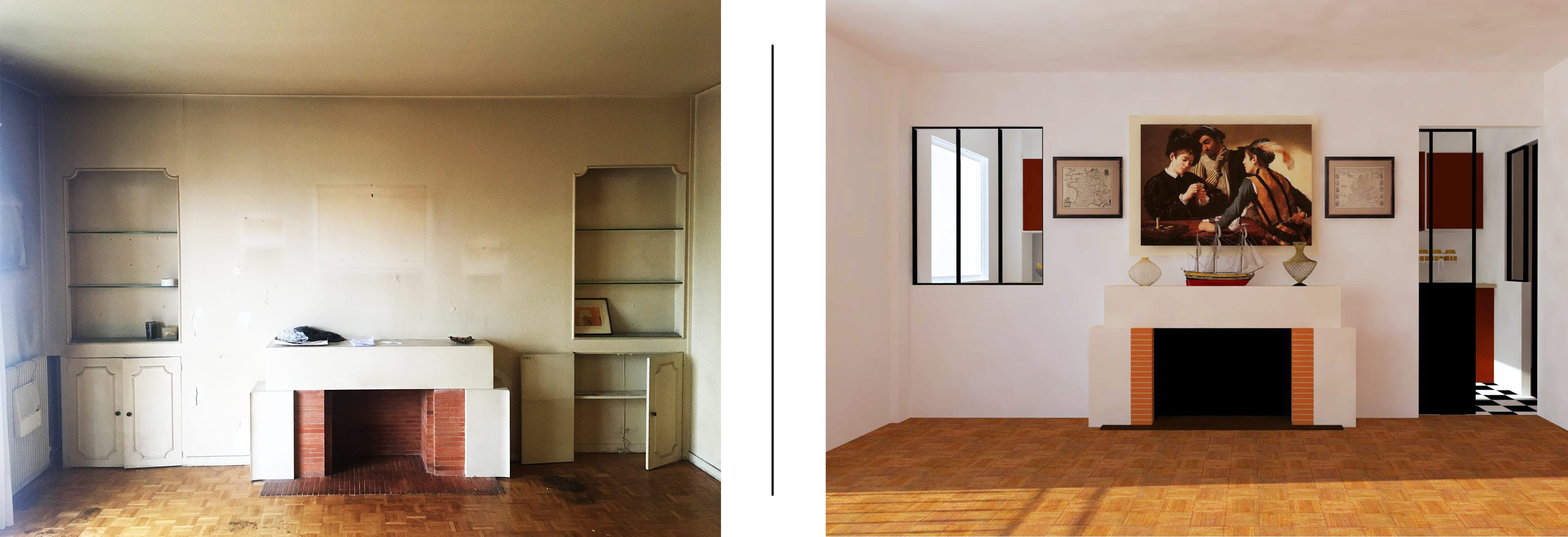 TIME | ARCHITECTURE & DESIGN STUDIO Restructuration appartement